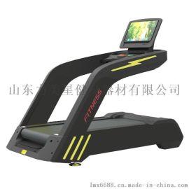 豪华商用健身房跑步机室内超静音减震双轮跑步机