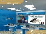 2017外觀時尚2.0榮耀手機體驗桌展示櫃收銀臺製作規臺範廠家