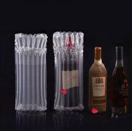 各种红酒气泡柱气柱袋红酒运输包装防震气泡柱充气气囊袋