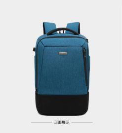 工廠定制雙肩電腦包箱包禮品批發定制來圖打樣可添加logo
