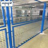倉庫隔離網  低碳鋼絲浸塑隔離網  上下雙層圍網 可加工定製