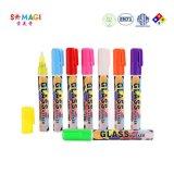 美奇6mm荧光笔 亚马逊爆款chalk marker 水性可擦环保彩笔