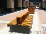 木塑公园座椅户外座椅休闲座椅 靠背椅1.5米
