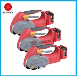 H-45储电式塑钢带打包工具 手提电动打包机 锂电池充电捆扎机