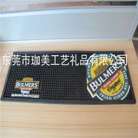 供应长方形PVC软胶酒吧垫 卡通吧垫 广告酒吧垫