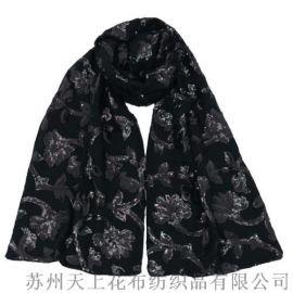 2018國際新潮絲絨圍巾產品圖例