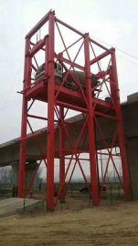 大吨位货梯载货电梯货车升降机青岛市荆州市启运厂家