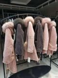 羊剪絨18冬裝庫存品牌折扣女裝批發一手貨源
