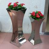 定製不鏽鋼花盆 落地大花瓶