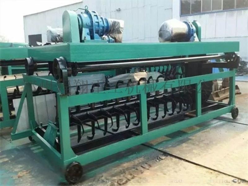 污泥秸稈發酵翻堆機,雞糞堆肥發酵設備價格廠家