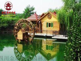 成都景观水车厂家,公园水车定制厂