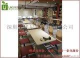 连锁餐厅桌椅饭店快餐桌椅工厂直销