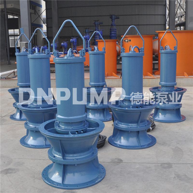 排水泵站開敞式安裝500QZB-125潛水軸流泵