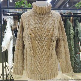 各種女裝走份七色麻秋冬裝新款中長款打底毛衣