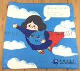 厂家定制超细纤维毛机 双面绒印花毛巾 广告礼品毛巾