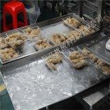 连续型榴莲酥油炸流水线+榴莲酥油炸机厂家