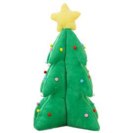 厂家直销毛绒玩具圣诞树公仔玩偶圣诞节礼品来图定制