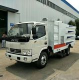 国五东风(水箱1.5m3+垃圾箱4m3)扫路车