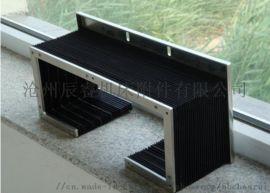 木工雕刻机折叠式风琴防护罩,雕刻机防水风琴防护罩