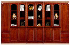 油漆木皮书柜文件柜15/19系列 绿色环保健康家具
