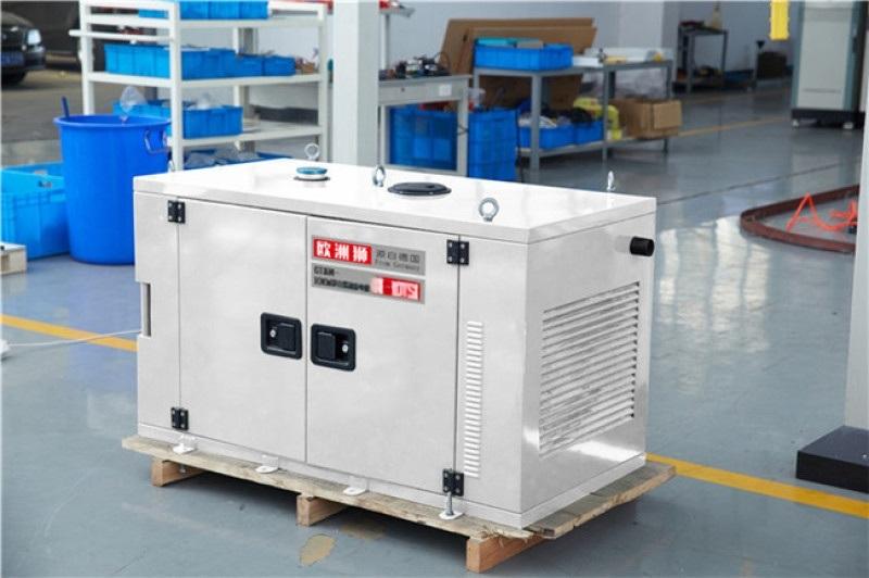 水冷静音15千瓦无刷柴油发电机