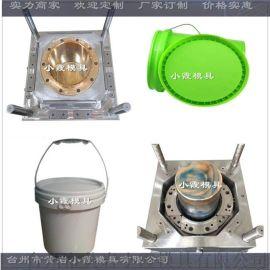 模具加工18公斤美式中国石油注塑桶模具厂家