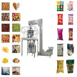蚕豆包装机械厂家 电子秤重自动立式包装设备