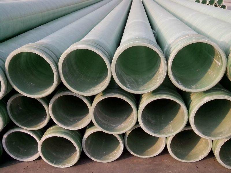 廠家生產化工玻璃鋼夾砂管道阻燃