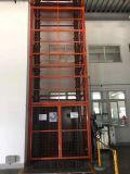 仓储液压升降台小型货梯嘉兴市启运导轨大吨位升降台