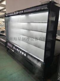 自贡风幕柜串串柜不锈钢保鲜柜喷雾冷藏柜定做