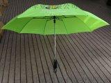 二折自动雨伞、27寸两折加大高尔夫折叠伞定制工厂