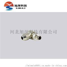 品牌重强连接器M12PB频闭电缆插头2芯至8芯