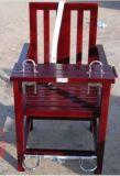 不鏽鋼標準型審訊椅 不鏽鋼審訊桌椅定做