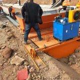 自走式水渠成型機 現場施工水利溝渠滑模機