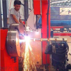 五轴四联动相贯线切割机 多功能金属管材切割机