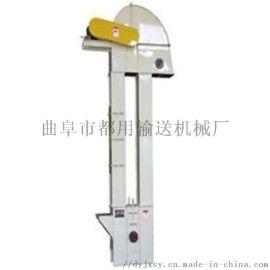 塑料斗带式稻谷装车机 倾斜式无外壳斗提机qc