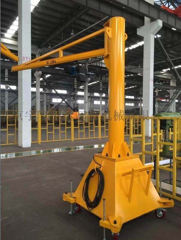懸臂吊移動式懸臂起重機小型龍門吊架提供安裝廠家