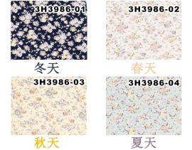 厂家    棉3H3986,秋冬季时尚女装面料,印花面料,锦马辰