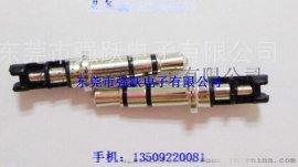 3.5四级插针,3.5*6.0*24.8四级尾部包胶插针