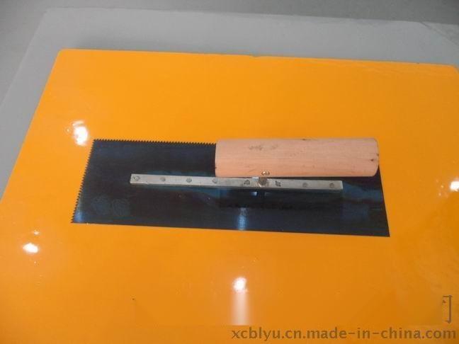 南京防滑坡道施工工具带齿镘刀批发价