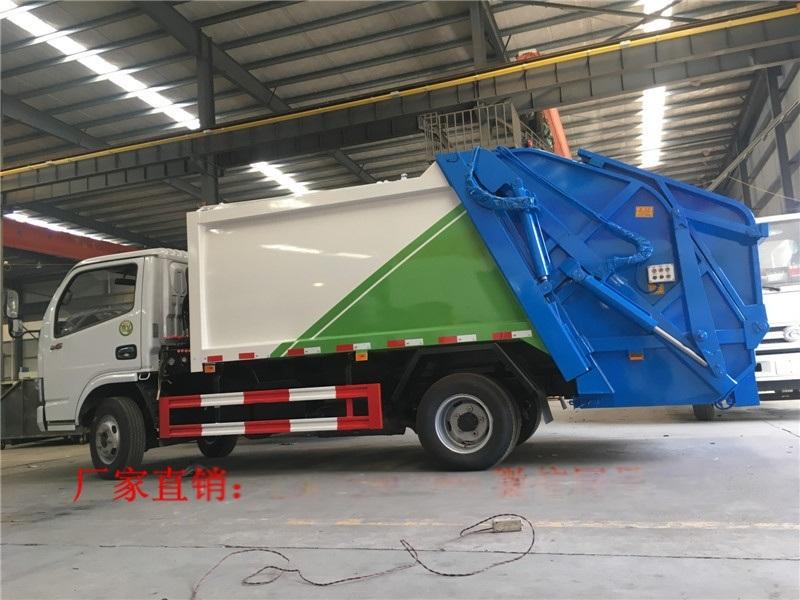 3吨5方后装挂桶垃圾压缩车多少钱
