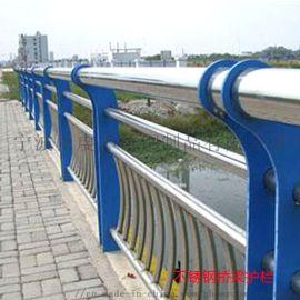 台州不锈钢栏杆 河道桥梁防撞护栏 宁波甬虔