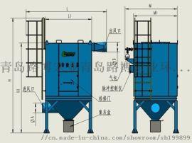 青岛路博LB-D脉冲反吹布袋除尘器高效过滤