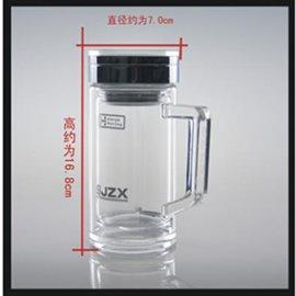双层玻璃口杯-787