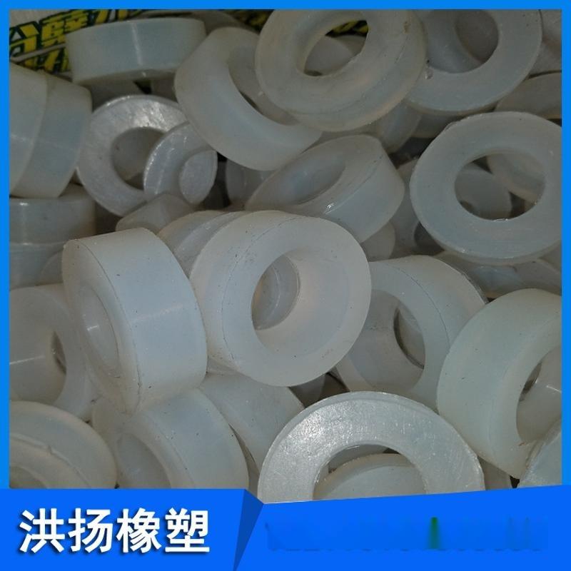 圓形矽膠緩衝墊 耐高溫矽膠隔震墊 矽膠防撞墊