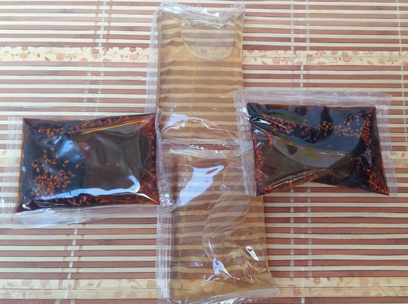 辣椒油包裝機醬類包裝機香醋包裝機雙下料系統 自選