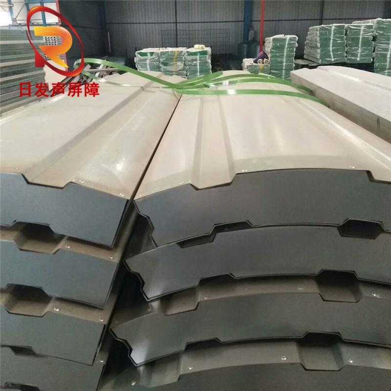 交通複合吸聲單元板金屬復合聲屏障隔音牆工業廠房金屬單元板