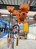 環鏈葫蘆港口碼頭專用吊運重物1T-3M電動環鏈葫蘆