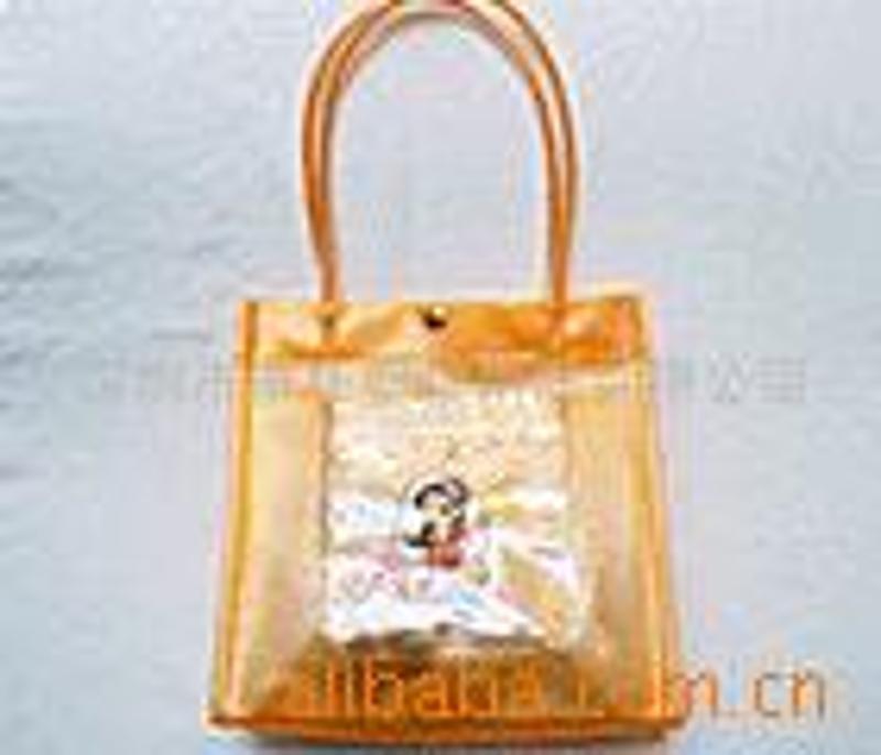 供应 PVC礼品袋化妆袋包装袋