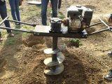 旋轉打坑機 攜帶型汽油打坑機 挖穴種樹機